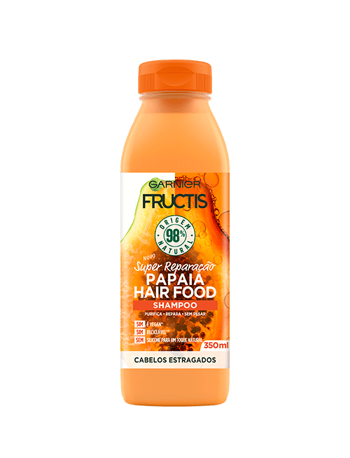 fructis hairfood shampoo papaia