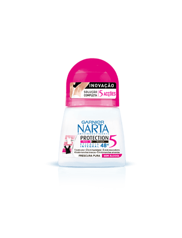 desodorizantes mulher protection 5 roll-on