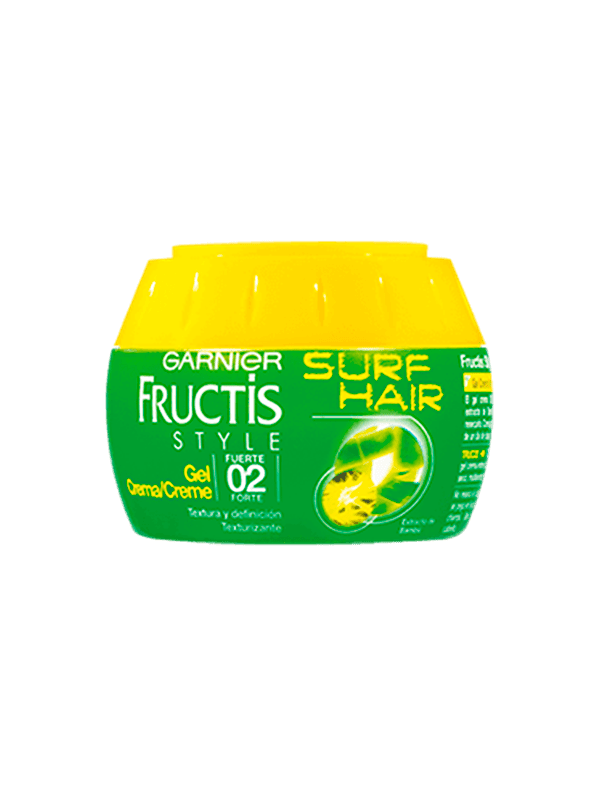 fructis gel surf hair